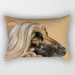 Afghan Hound Rectangular Pillow