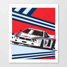 Lancia Beta Montecarlo Canvas Print