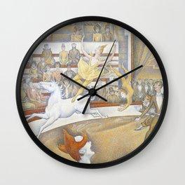 Georges Seurat - Le Cirque Wall Clock
