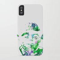 yoda iPhone & iPod Cases featuring Yoda by NKlein Design