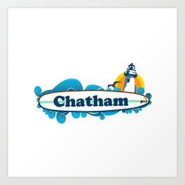 Chatham Ligthhouse  Art Print