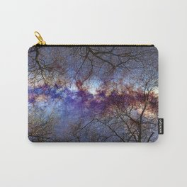 Fantasy stars. Milkyway through the trees. Carry-All Pouch