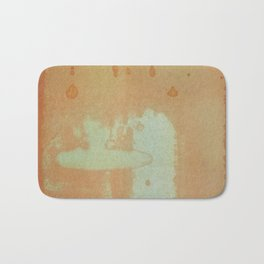 Orange Invasion Bath Mat