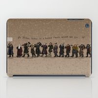 nori iPad Cases featuring Wrong Tune by wolfanita