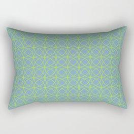 o x o - just circumferences - bg Rectangular Pillow