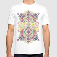 Opal with phantoms  Mens Fitted Tee MEDIUM White