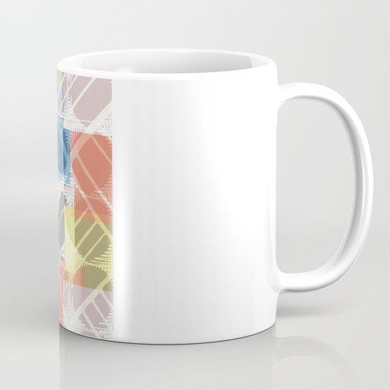 squares n holes... Mug