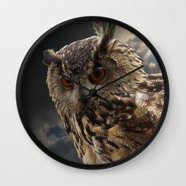 Stunning Owl Photography Wall Clock
