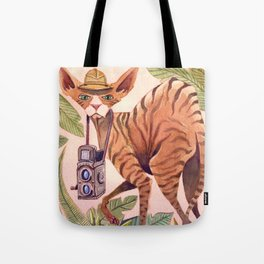 Safari Sphynx Tote Bag