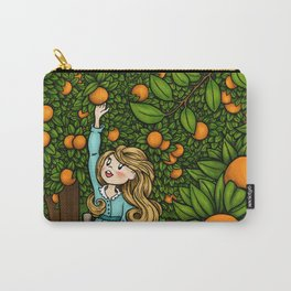 The Orange Grove Carry-All Pouch