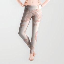 Edana Medallion in Pink Leggings