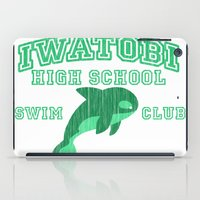iwatobi iPad Cases featuring Iwatobi - Orca by drawn4fans