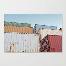 Curaçao - Container II Canvas Print
