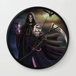 Grim Reapers Wall Clock