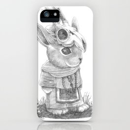 Le Sorcier Lapin iPhone Case