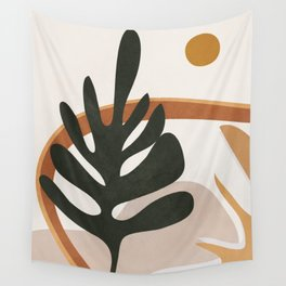 Abstract Plant Life I Wall Tapestry
