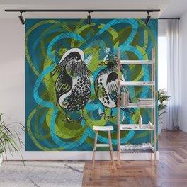 Mandarins in LOVE - Animals Serie Wall Mural