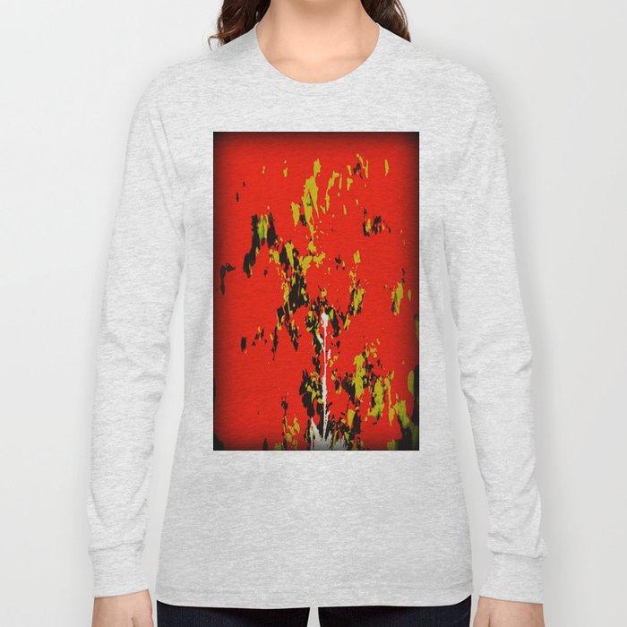 Splash on Red Long Sleeve T-shirt