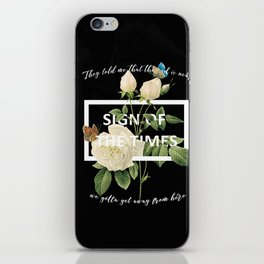 Harry Styles Sign Of The Times graphic design iPhone Skin