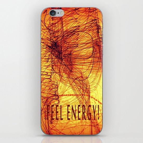 feel energy! iPhone & iPod Skin