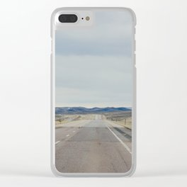 Open Road - Casper, WY Clear iPhone Case