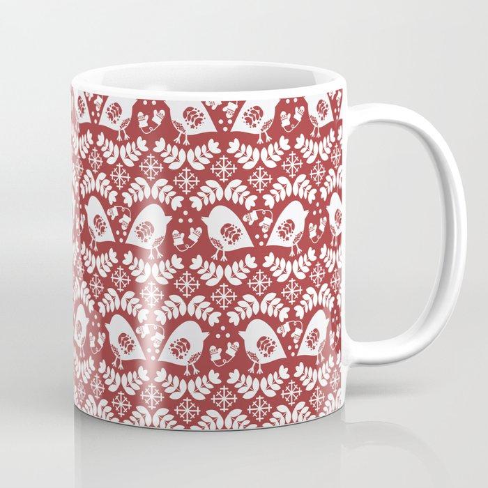 Winter Birds Coffee Mug