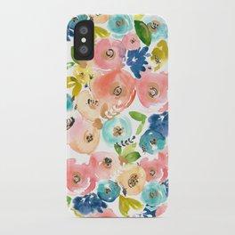 Floral POP! iPhone Case