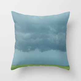 Storm Clouds // Landscape Photography Throw Pillow