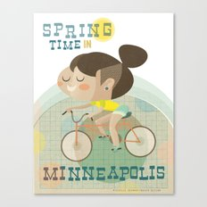 Spring Time in Minneapolis Canvas Print