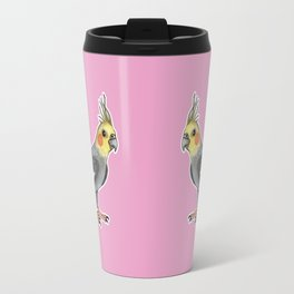 Cockatiel Travel Mug