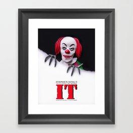 It (1990) Alternative Film Poster Framed Art Print