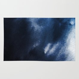 Watercolor Blue Rug