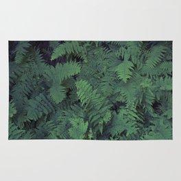 Fern Leaf Pattern Rug