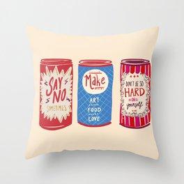 Self Love Soda 2 Throw Pillow