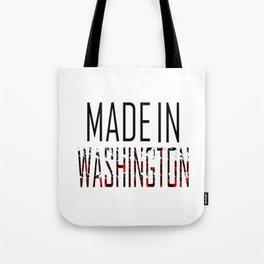Made In Washington Tote Bag