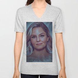 Jennifer Morrison Unisex V-Neck