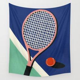 Malibu Tennis Club Wall Tapestry