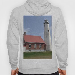 East Tawas Point Lighthouse Hoody