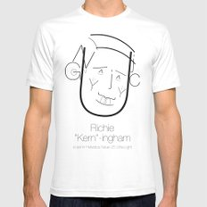 Richie 'Kern'-ingham White SMALL Mens Fitted Tee