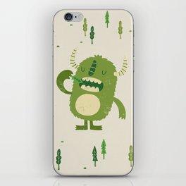 the tree muncher iPhone Skin
