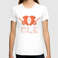 cleveland T-shirts featuring Cleveland Football by John Trivelli