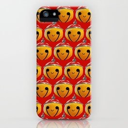 Christmas Bells Red iPhone Case