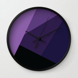 Royal Purple Dreams #4 Wall Clock