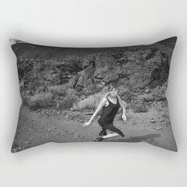Run run Run run Run run Run away From your Responsibilities Rectangular Pillow