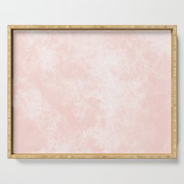 Pink Coral Marble Serving Tray