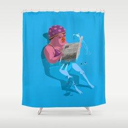 Greetings from Hungary III. Shower Curtain