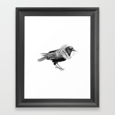 The Crow - Tangled Framed Art Print