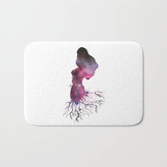 Rooted In The Stars Bath Mat