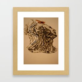 Your Bones Aren't Visible Enough  Framed Art Print