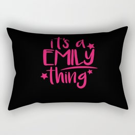 Emily Thing Gifts for Emily Rectangular Pillow